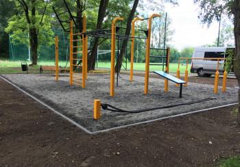 Obiekt do ćwiczeń z własną masą ciała - FlowPark Kraków Bieżanów