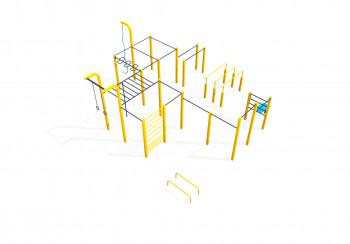 Flow park for street workout - Standard XL