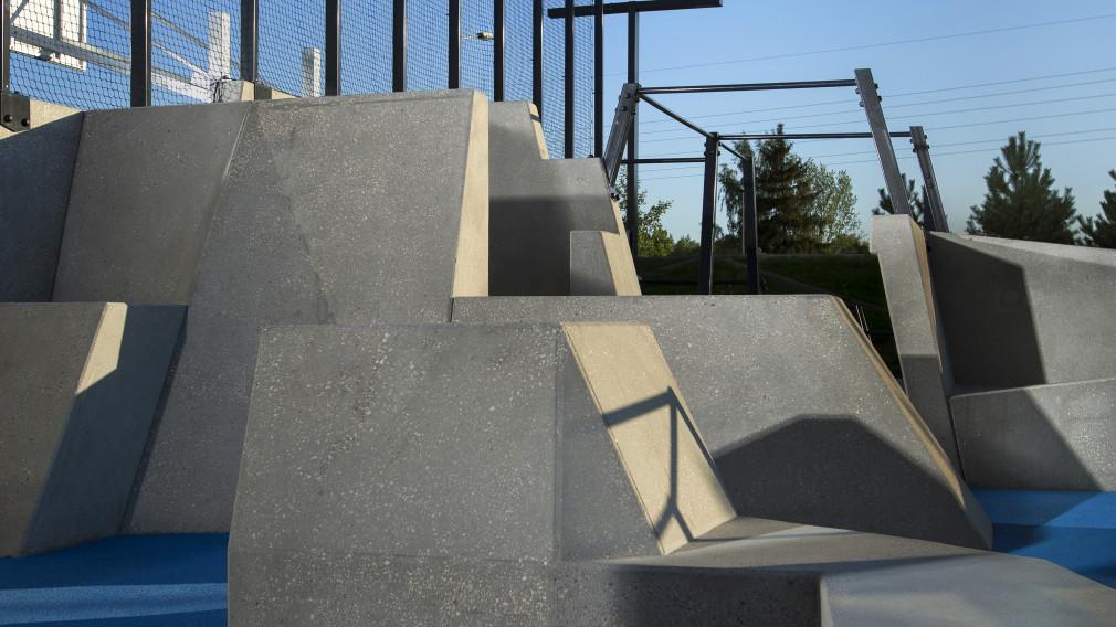 Parkour park dla początkujących