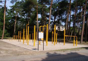 FlowPark do street workoutu z Certyfikatem TUV - Line XXL - Ciechocinek