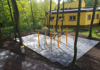 Street workout park Jaworzno