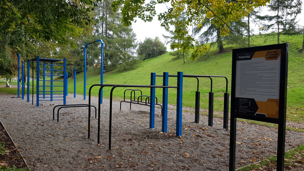 Street workout park do treningu kalisteniki