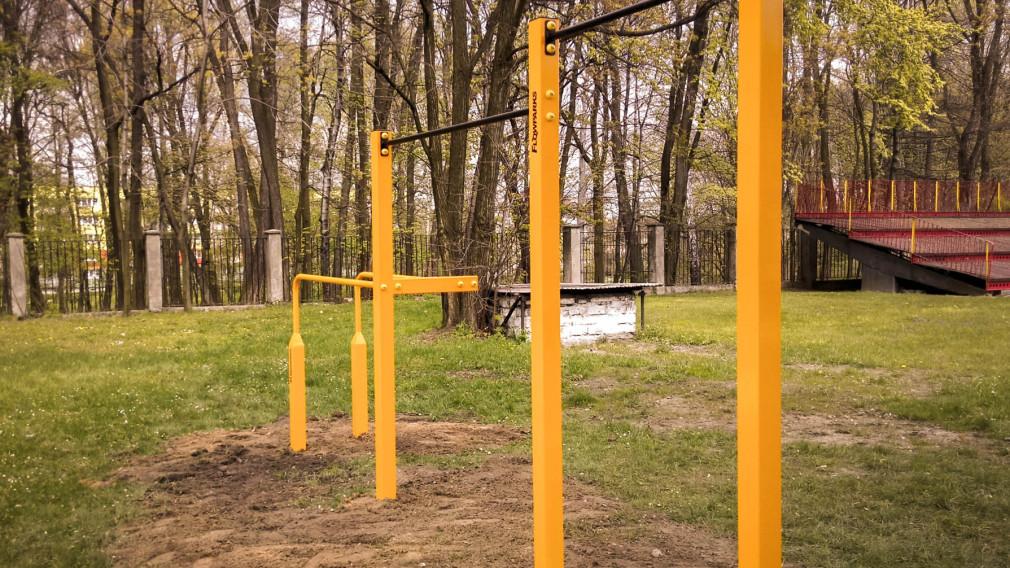 Street workout park w Mikołowie