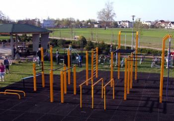 Street Workout Park Dobrzeń Wielki