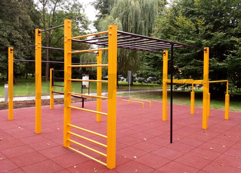 Street workout park w okolicy
