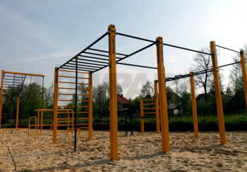 Street Workout Park Masłomiąca