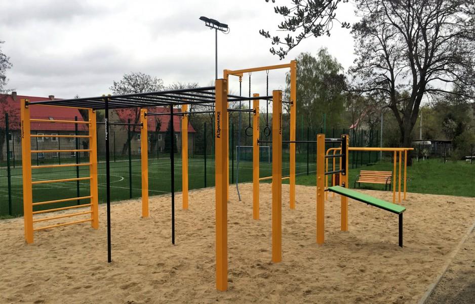 Street Workout Park Bogatynia