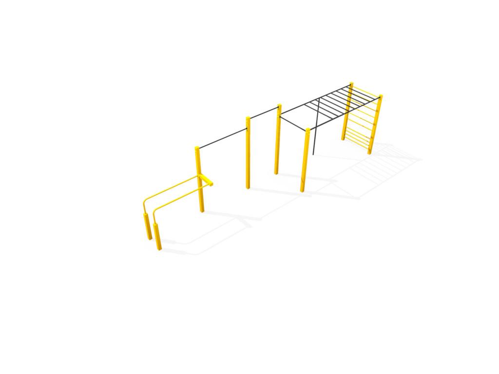 Street workout park - FlowParks Line S