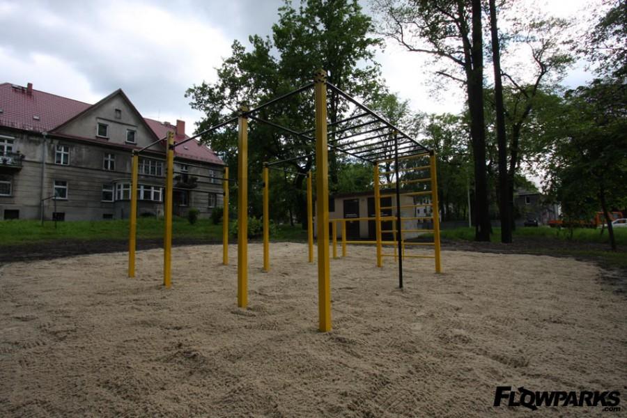 FlowPark na nawierzchni piaszczystej w  Lubliniec
