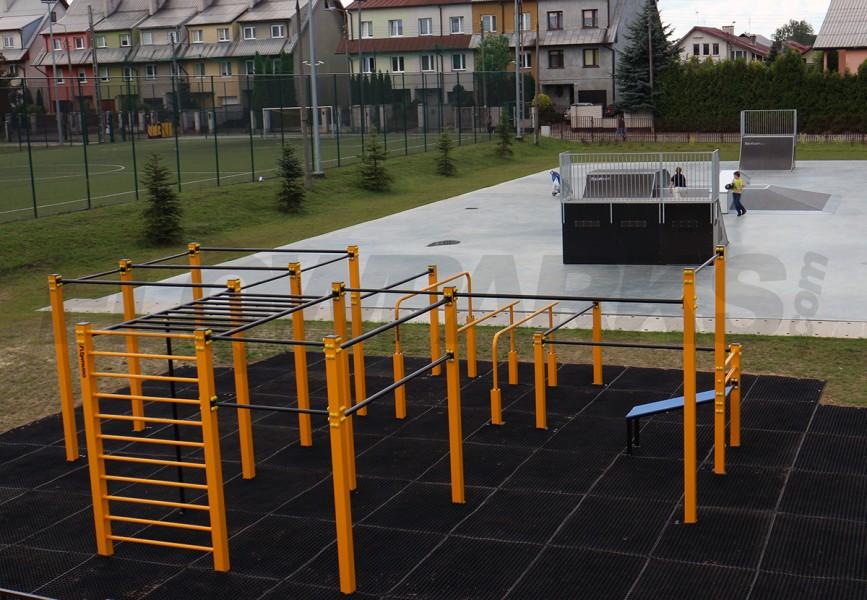 Park do street workoutu w Płońsku
