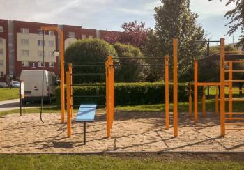 Street Workout Park Strzelce Opolskie