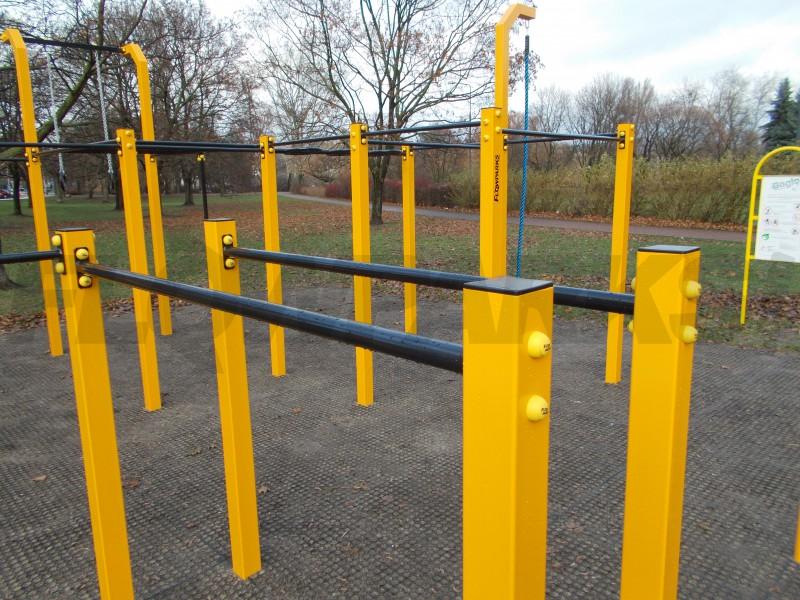 Street Workout Park Flowparks- Warszawa - Moczydło