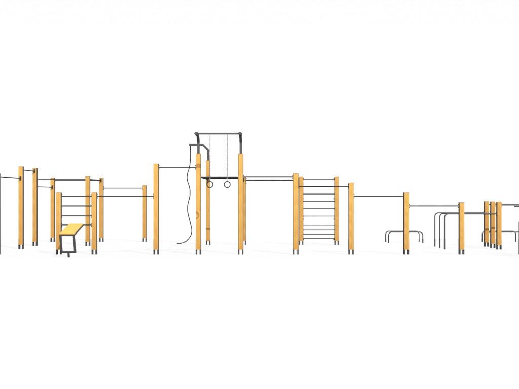 siłownia zewnętrzna - FlowPark