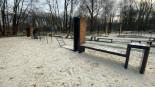 Parkour spot w Parku Decjusza w Krakowie