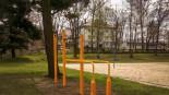Park kalisteniczny do treningu street workoutu