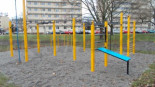 Park do kalisteniki w Warszawie