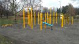 Park do street workoutu w Warszawie
