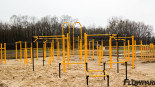 FlowPark do street workoutu w Ligocie Prószkowskiej - indywidualny projekt