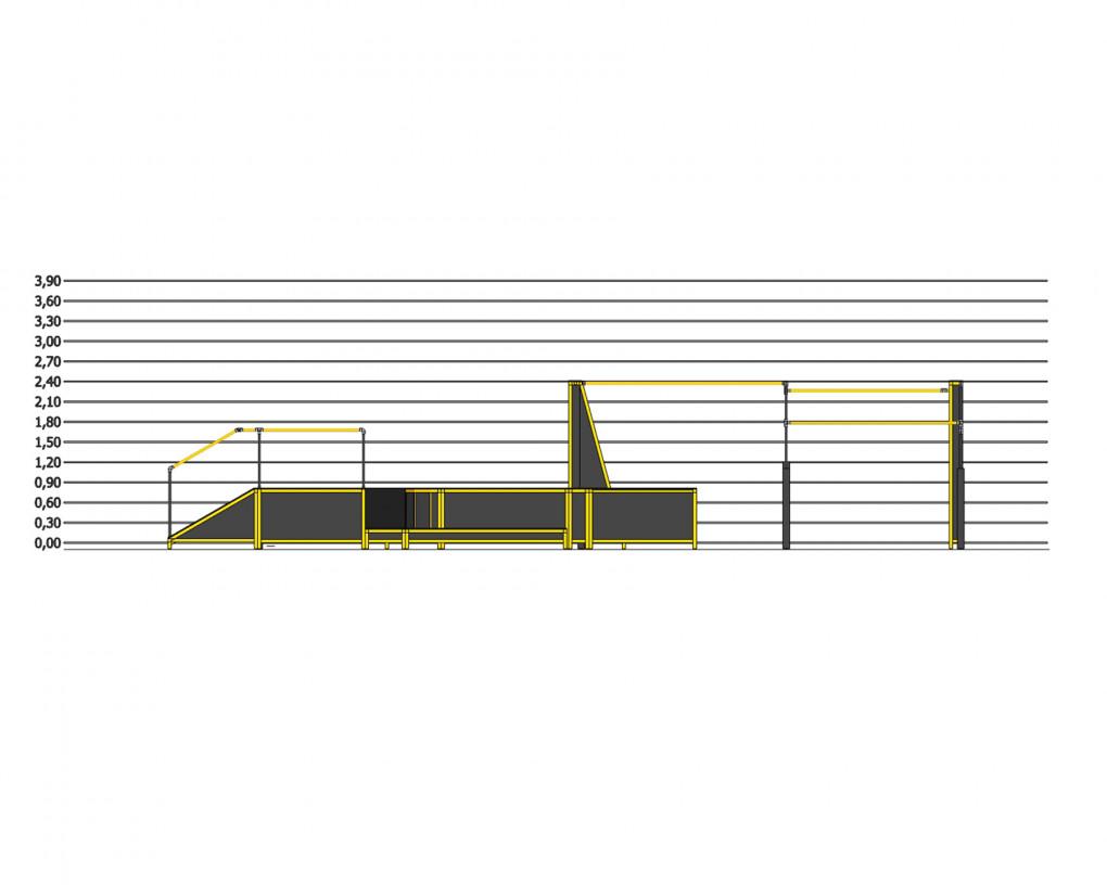 3runCoval U series - height