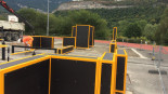 Parkour park wykonany przez FlowParks