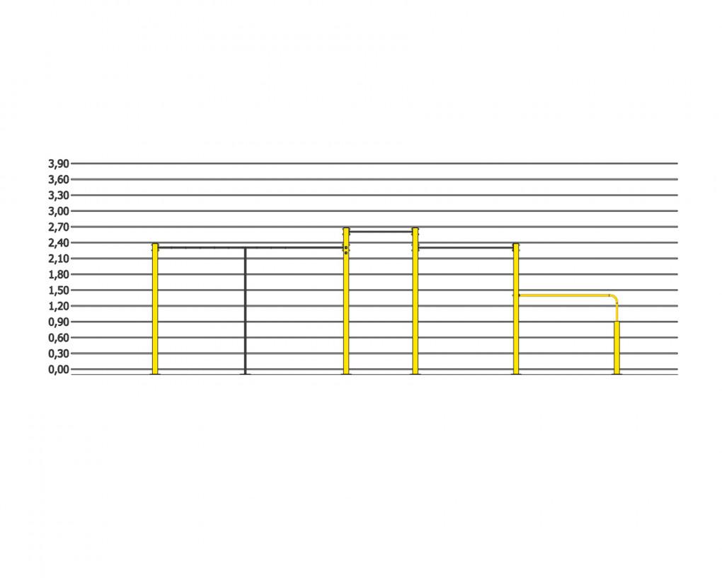 Height throw FlowPark Line S