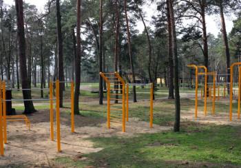 Park do kalisteniki w Kozienice